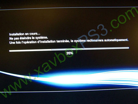 installation custome firmware ps3