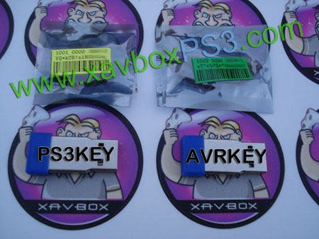 ps3key et avrkey