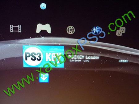 menu ps3key